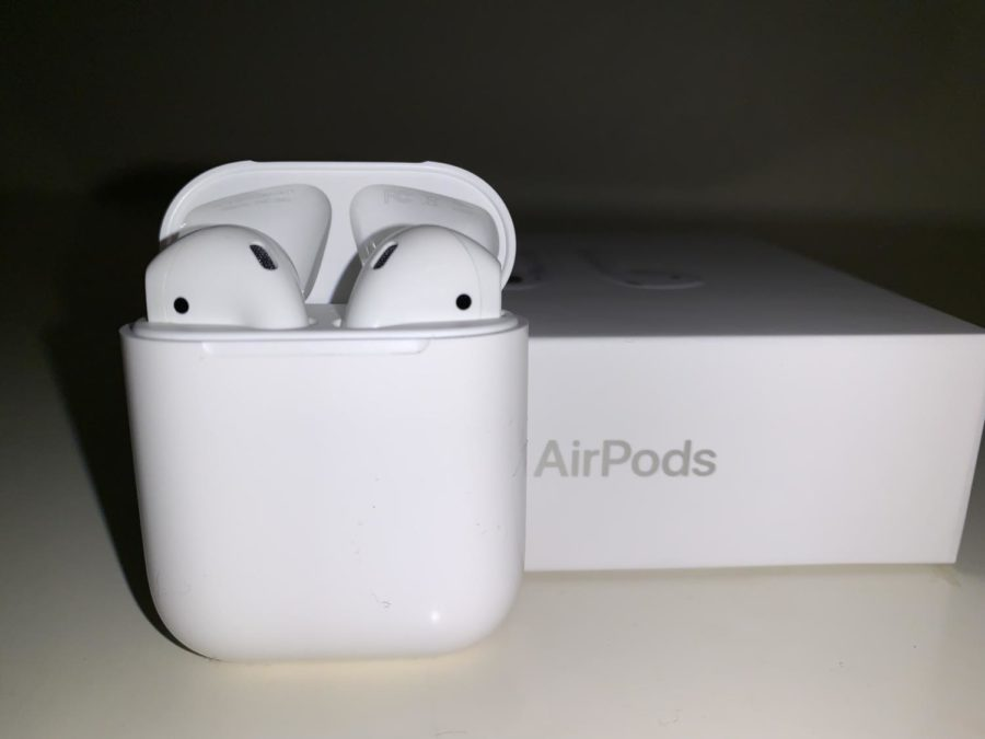 AirPods%2C+a+product+manufactured+by+Apple%2C+were+released+in+December%0A+of+2016.