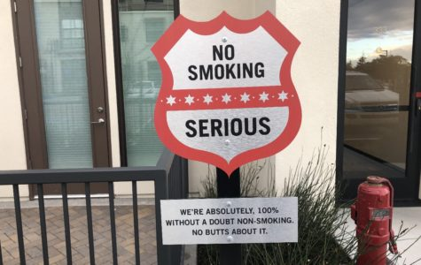 Like many new apartment buildings, smoking is prohibited at the Trestle apartment complex.