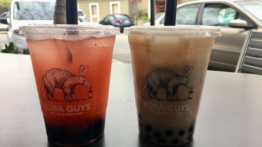 The menu provides a wide variety of drinks from a Strawberry Tea Fresca to a Dirty Horchata.