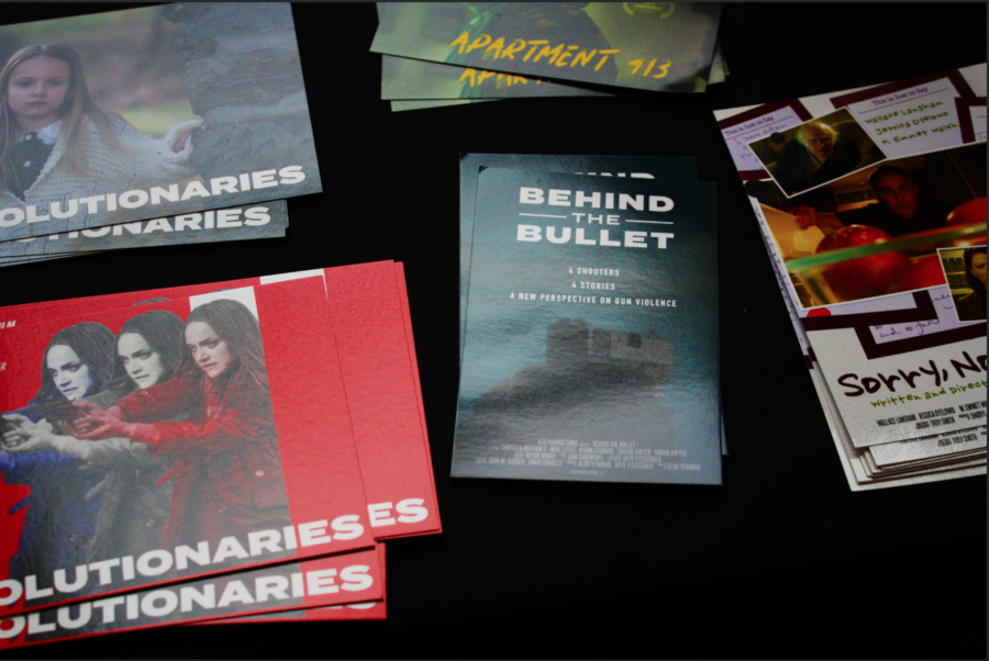 Flyers from Century 20 Redwood City Theater promoting films featured by Cinequest.