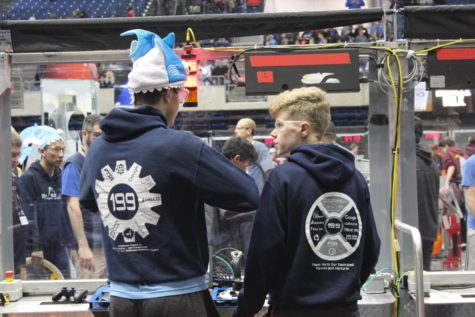Personal accomplishments and satisfaction define Robotics Club's success