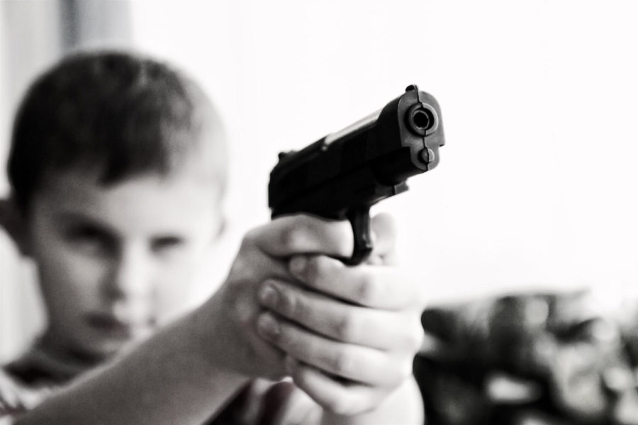 There is no law that keeps guns out of the hands of children.