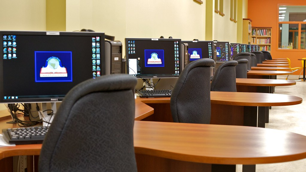 Libraries across the nation have adopted computers and other technology