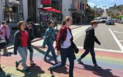 Gender-Sexuality Alliance tours the Castro