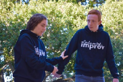 Improv Team acts as a space for individual growth