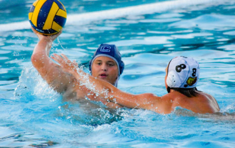 Boys JV water polo gets washed out by Menlo-Atherton