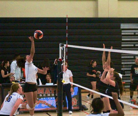 JV volleyball gets rattled in fall to San Mateo