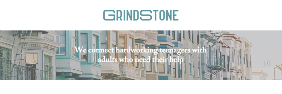 """Grindstone in it's most basic form is a platform where local teenagers can explore and commit to flexible work opportunities from adults who have flexible work opportunities to give,"" said Evan Ajuria, the founder."
