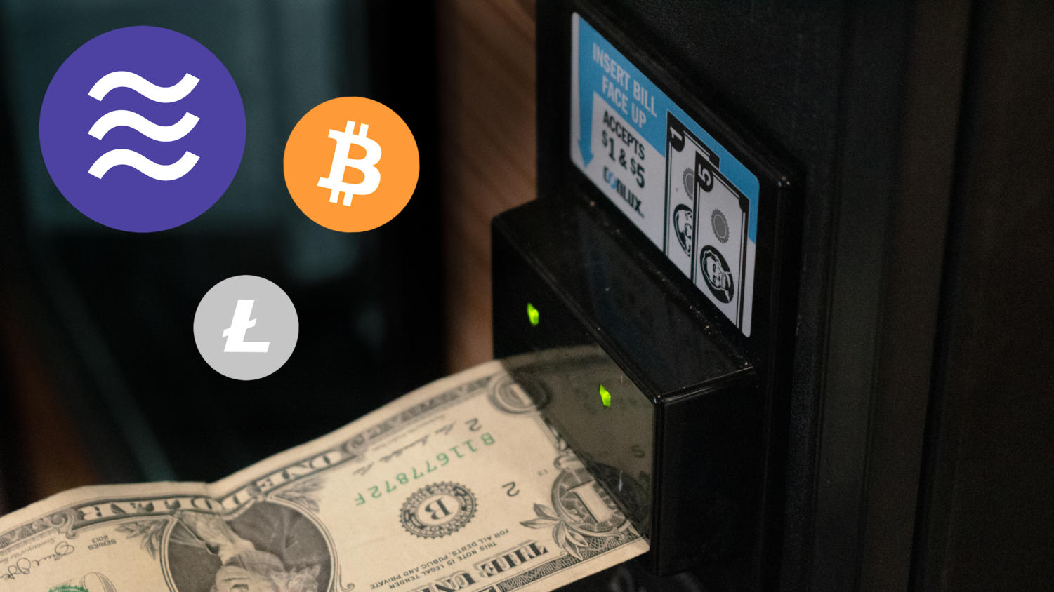 Libra aims to create a future where it will be possible to use cryptocurrencies  alongside cash and cards.