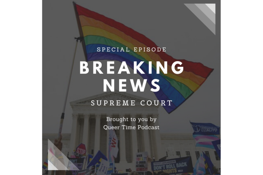 Queer Time Podcast is run by three teenagers and focuses on coverage of the LGBTQ+ community.