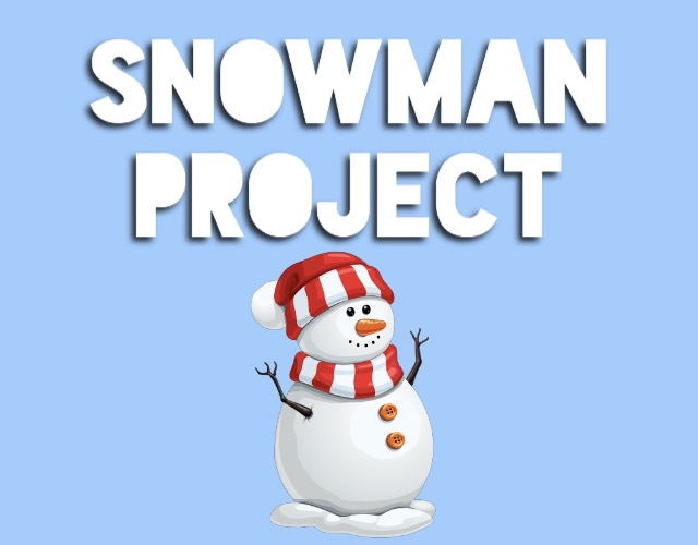 "Led by Griffin Soelberg, a senior, students involved with last year's Project Snowman fundraiser worked to create graphics such as this. They also decorated boxes to resemble presents, which they used to collect money for the less-fortunate families of Carlmont. ""It looks like you're putting money into a present, and the money actually goes to buying presents,"" Soelberg said."