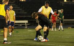 Boys varsity soccer players put their best foot forward at tryouts