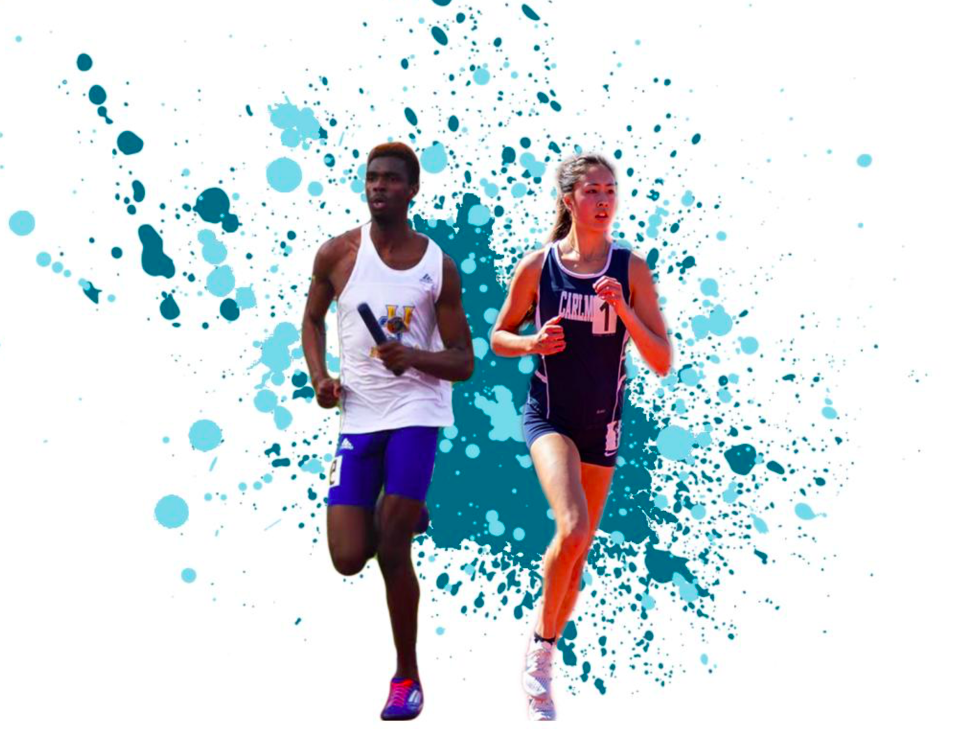 Both Kaimei Gescuk and Tanner Anderson were recruited by Division 1 schools for their athletic capabilities.