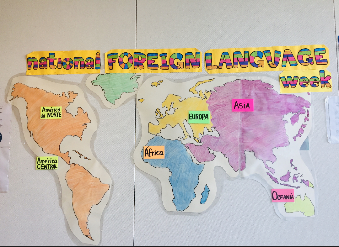 Students get the opportunity to learn a foreign language during school, such as French, Chinese, and Spanish.
