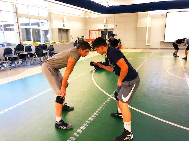 Scots wrestling preps for inaugural season