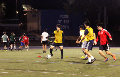 Scots prep for upcoming soccer season