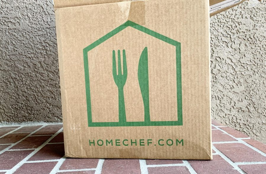 Another option for delivery services are packaged ingredients that can be cooked at home and turned into meals.