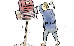 Editorial Cartoon: Putin Rewrites Russia