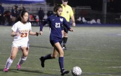 JV girls soccer crushes Mills in blowout win