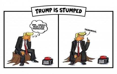 Editorial Cartoon: Trump is Stumped