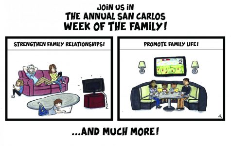 Cartoon: Family Bonding