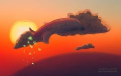 Cartoon: Flight COVID-19