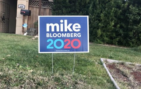 Bloomberg 2020 Sign