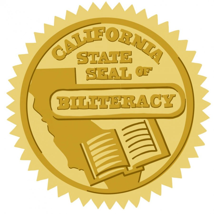 California%27s+seal+of+biliteracy+is+attached+to+a+senior%27s+diploma+once+they+complete+all+four+years+of+a+language+during+high+school.+