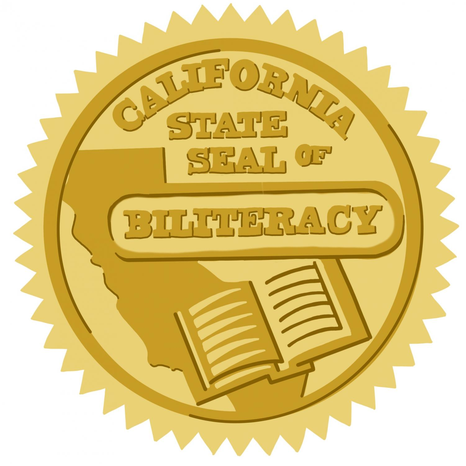 California's seal of biliteracy is attached to a senior's diploma once they complete all four years of a language during high school.
