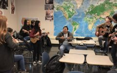 Guitar Club strings up a new performance for the Heritage Fair