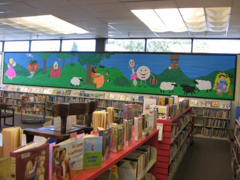 The children's area is just one feature of the East Palo Alto Library. Plans to expand the size and services of the library are underway.