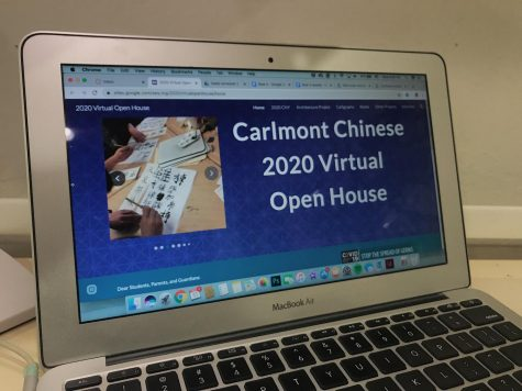 "Some teachers made virtual websites to substitute the open house. ""I think canceling the open house was the responsible thing for the school to do,"" said Mindy Chiang, the Chinese teacher."