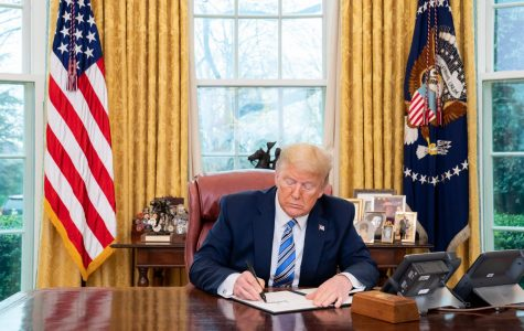 On Wednesday, President Donald Trump signed a coronavirus relief package that has received broad bipartisan support over the past week.