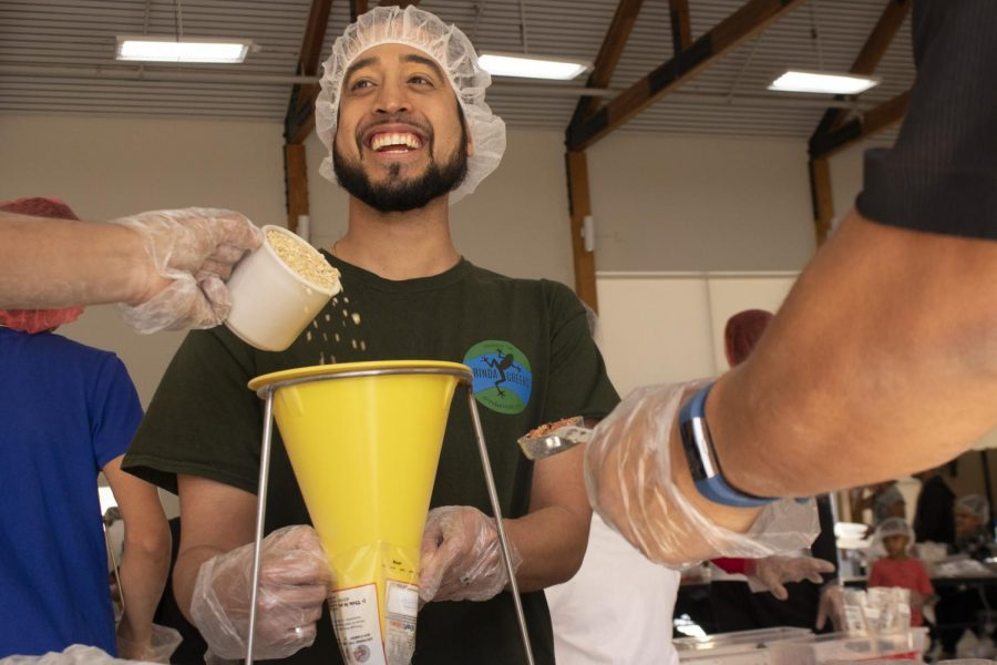 Rise Against Hunger fulfills community craving for service