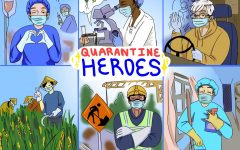 Cartoon: Quarantine Heroes