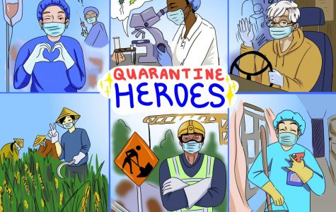People from essential services risk their lives during the quarantine to keep our society intact.