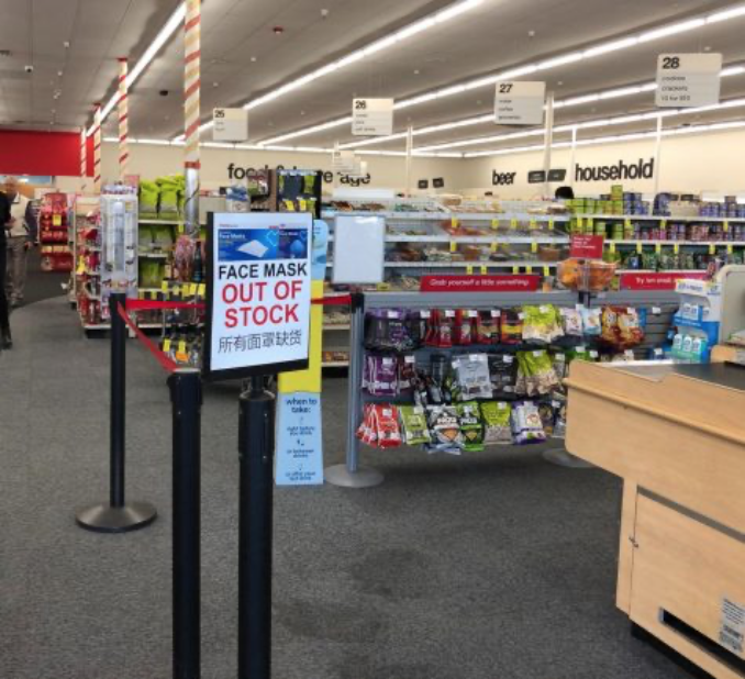 Pharmacies and other stores are quickly running out of protective medical gear, such as face masks, as panic spreads over the coronavirus outbreak.