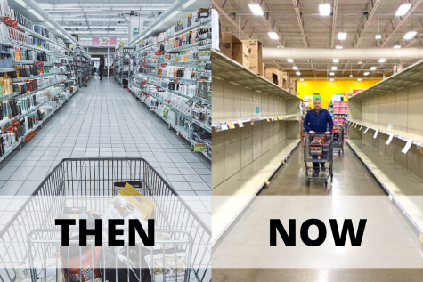 Before, stores were always stocked with supplies. Now, with the coronavirus spreading in full force, shopping aisles are picked barren.