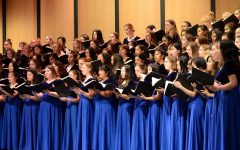 Carlmont's choirs perform together at the first and final night of the Spring Concert.