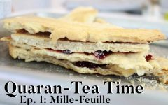 Quaran-Tea Time Ep. 1: Mille-feuille