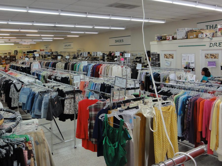 Thrift stores are a great option when looking to revamp your closet.