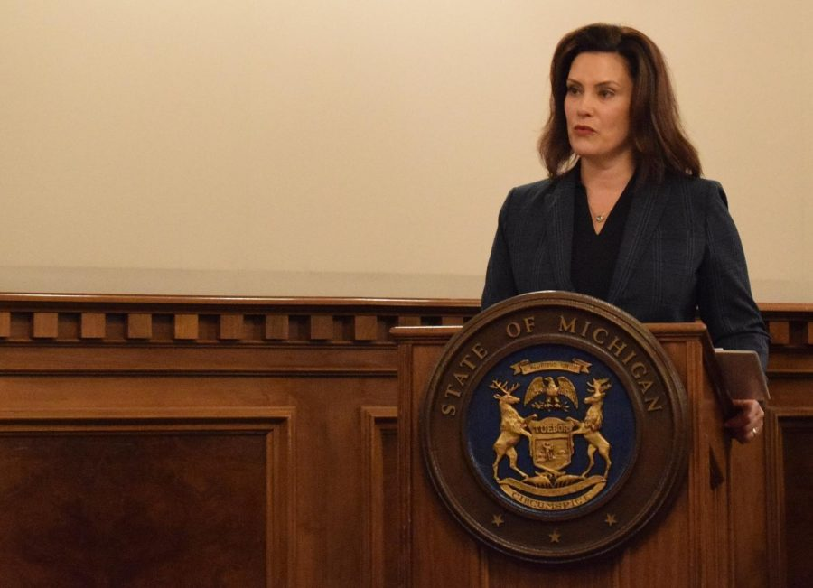 Gov. Gretchen Whitmer extended Michigan's stay-at-home order through April 30. The extension prompted a protest by frustrated residents of Michigan.