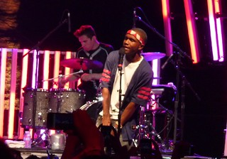 Frank Ocean performs live at Coachella in 2012.
