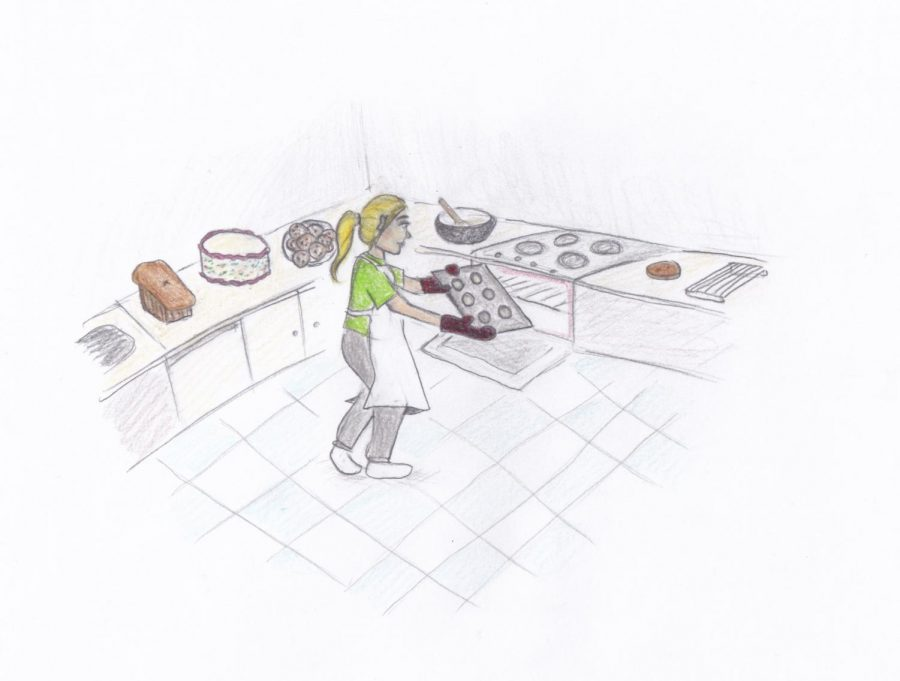 Suddenly, everyone's a baker!