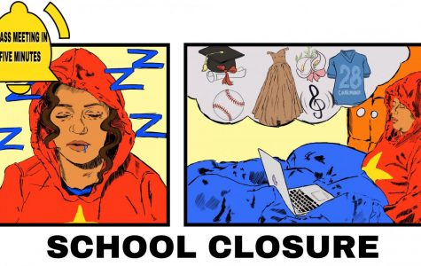 As a result of the COVID-19 pandemic, school has been closed for the remainder of the school year, and school activities have been canceled as well.