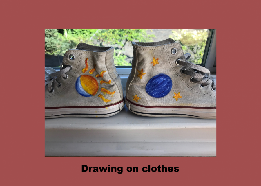 Drawing on your clothing items is a cheap and unique way to add new clothing items to your closet.