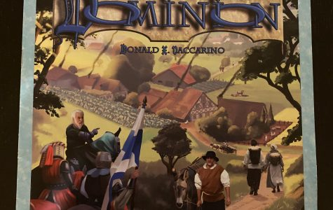 Donald X Vaccarino designed Dominion.  Published in 2008 by Rio Grande Games, Dominion is an essential game for anyone's collection.  It can be played with 2-4 players in less than an hour.