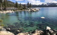Although Lake Tahoe has been a popular tourist attraction, people are now flocking to the vacation communities to escape the dense urban population, causing anxiety among permanent residents.