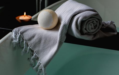 Taking a hot bath can reduce stress and anxiety, help with headaches, and help with sore muscles.