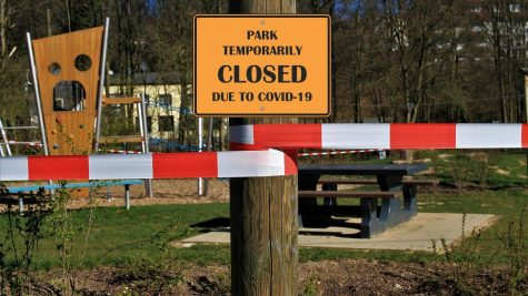 Many public facilities have been closed in an effort to stop the spread of COVID-19, further reducing the area available to the public.